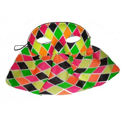 loup-a-losanges-multicolores-et-voilette-arlequin