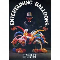"""le grand livre des ballons"" entertaining balloons de Jean Merlin"