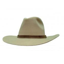 Modèles démonstration Chapeau de Cow Boy Feutre Beige taille 59
