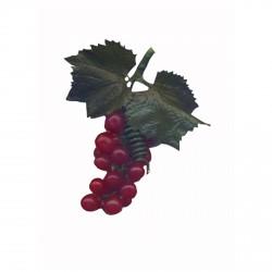 Petite grappe de raisin 12.5 cm pour décoration de table cérémonie et fêtes