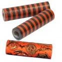 Lot de 3 rouleaux de 18 Serpentins Halloween 4 mètres orange et noir