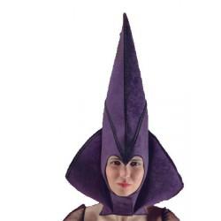 Chapeau de Sorcière en tissu violet 62 cm