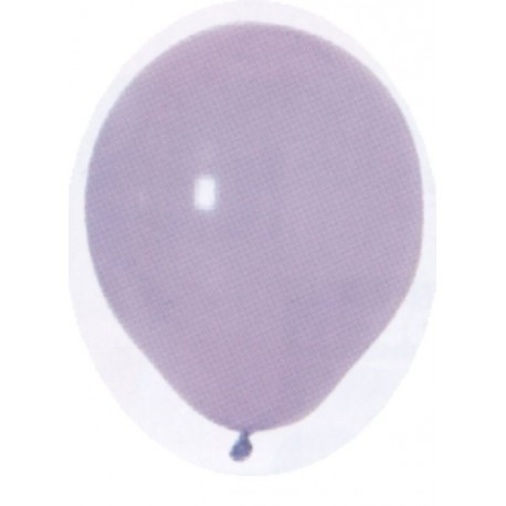 100 ballons de baudruche standard lavande 29 centimètres de diamètres