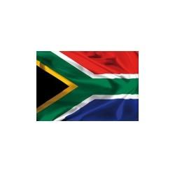 Drapeau Afrique du Sud en tissu 90cm x 150 cm