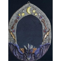 decoration-halloween-miroir-dragon-violet