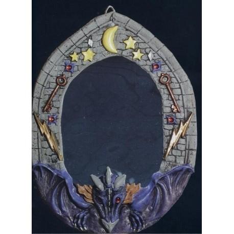 decoration-halloween-miroir-dragon-violet