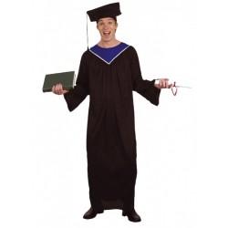 Jeune diplômé universitaire taille unique