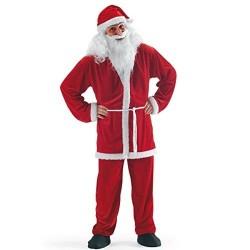 Père Noël en veste et pantalon