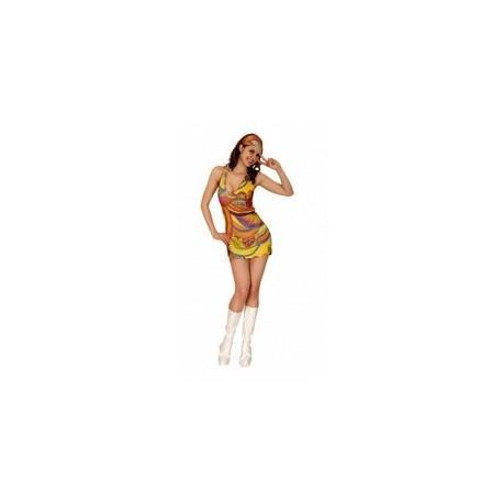 robe-disco-annees-70-80-taille-unique-m