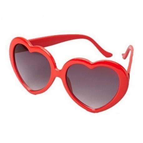 lunettes-coeurs-rouges-verres-fume-contour-rouge