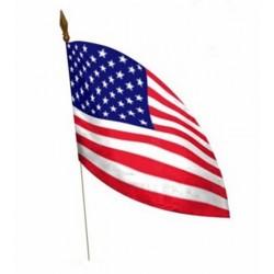 1 Drapeau des Etats Unis d'Amérique drapeau de table