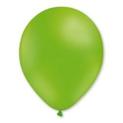 100 ballons de baudruche vert pistache 30 cm Ø