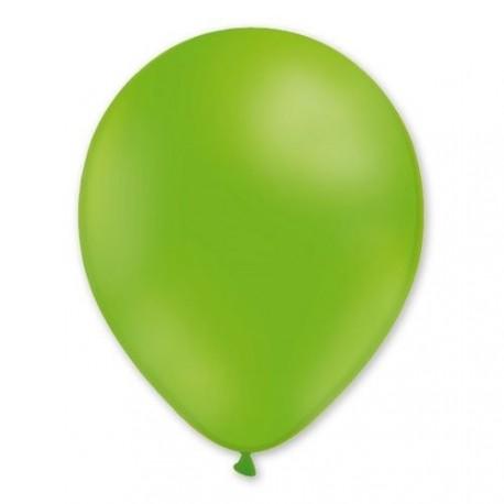 100 ballons de baudruche vert pistache 30 centimètres de diamètre
