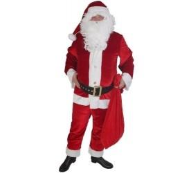 Père Noël américain en panne de velours
