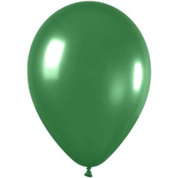 100 ballons de baudruche métal amande ø 29 cm