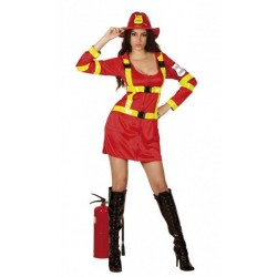 Pompier femme du feu