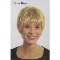 Perruque kai + kim blonde selon votre humeur pile ou face