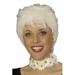 Perruque kai kim blanche selon votre humeur pile ou face