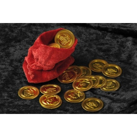 bourse-de-pirate-avec-36-pieces-d-or