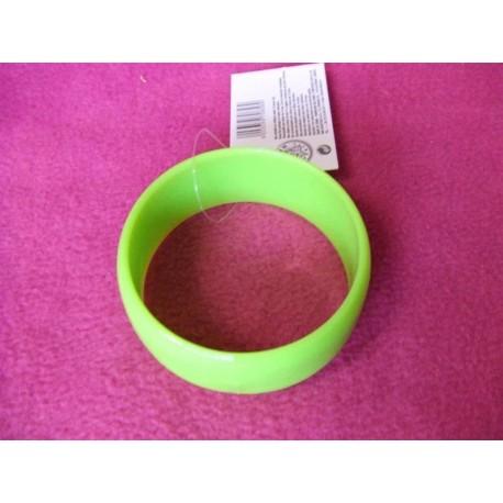 bracelet-vert-rond-disco-retro