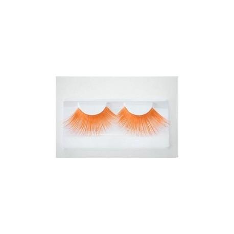 faux-cils-orange-longs
