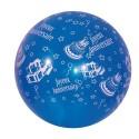 """2 ballons de baudruche """"Joyeux Anniversaire"""" 40 centimètres de diamètre"""