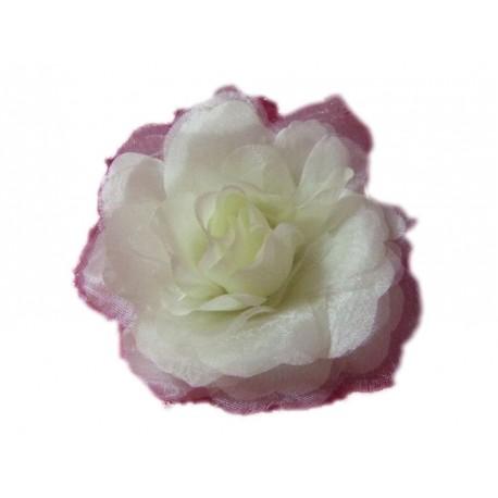 fleur-pour-cheveux-ou-broche-rose-blanc-creme