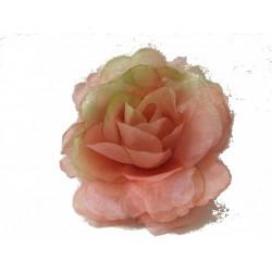 fleur-pour-cheveux-ou-broche-rose-rose-avec-reflets-verts
