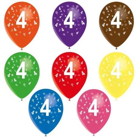 8-ballons-de-baudruche-chiffre-4-decores-tout-autour-o-30-cm