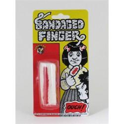 Bandage ensanglanté pour le doigt petite taille pour doigts fins