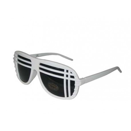 Lunettes de soleil Shutter shades blanches yEcse1TVl5