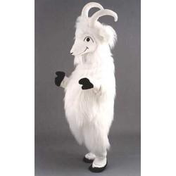 Chèvre blanche Grosse tête Peluche Mascotte