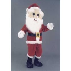 Père Noël peluche grosse tête Mascotte