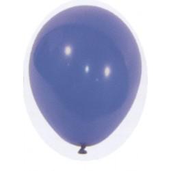 100 ballons de baudruche standard bleu roi ø 29 cm