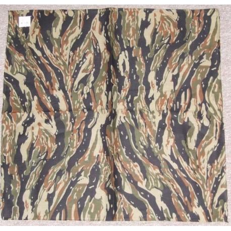 Bandana Foulard carré Vert Camouflage de l Armée 100 % coton
