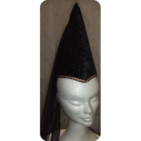 chapeau-de-fee-melusine-noir-et-or