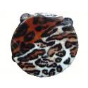 """Tambourin """"léopard"""" plastique et cymbale acier"""