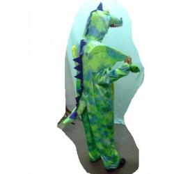 Dragon vert peluche