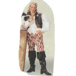 Pirate à têtes de mort femme