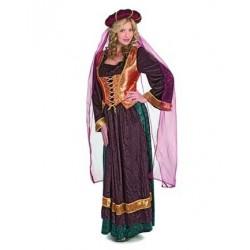 Médiévale corset orange