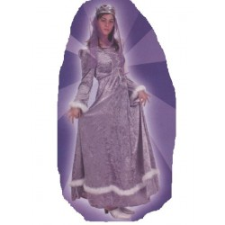 Princesse médiévale violette