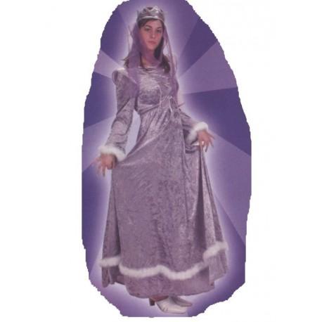 princesse-medievale-violette