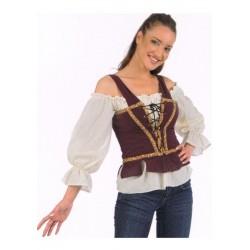 Chemisier corset médiéval