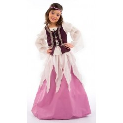 Esmeralda médiévale princesse