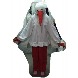 Cigogne peluche enfant oiseau