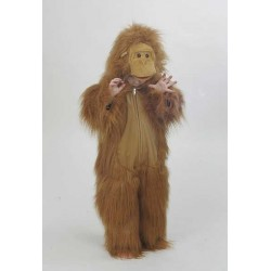 Orang-outan belle peluche à poils long