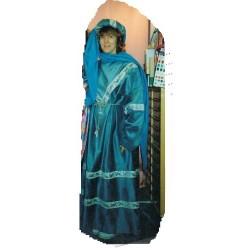 Moyen Age mixte médiéval tons de bleu