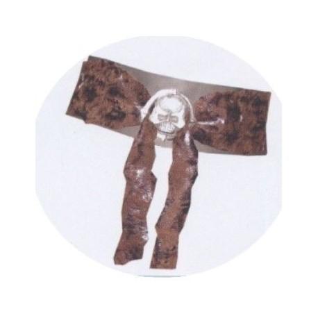 ceinture-de-pirate-en-tissu-suede-marron-imitation-vieux-cuir