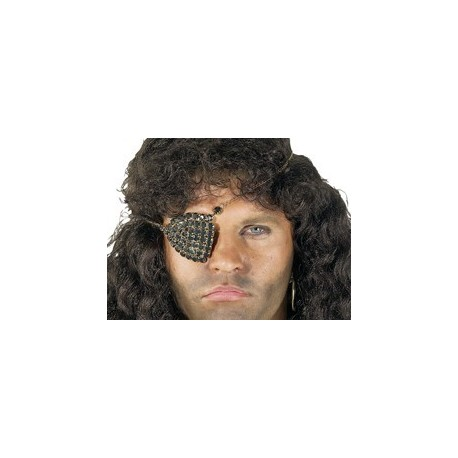 cache-oeil-de-pirate-bijou-strass-noirs-sur-fond-dore