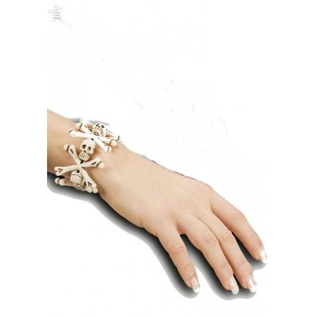 bracelet-de-pirate-avec-os-et-tetes-de-mort